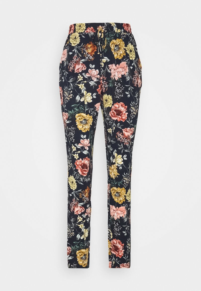 ONLY Tall - ONLNOVA LUX PANT AOP TALL - Trousers - night sky/night garden
