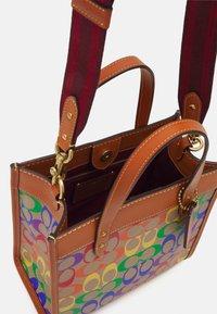 Coach - PRIDE SIGNATURE TOTE - Handbag - tan natural/multi - 2