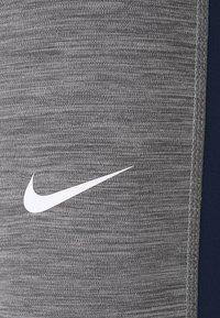 Nike Performance - Punčochy - smoke grey heather/obsidian/white - 6