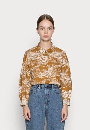 IHSWANN - Overhemdblouse - golden brown