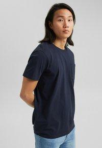 Esprit - Basic T-shirt - navy - 5