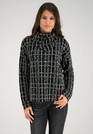 Sweatshirt - black multicolor