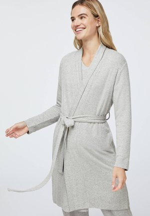 Dressing gown - light grey