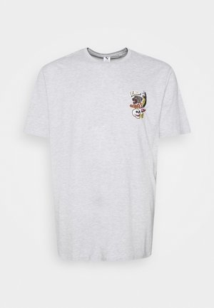 PRINTED TEE  - T-shirt print - grey mel