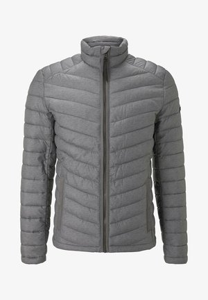 Winter jacket - middle grey mélange