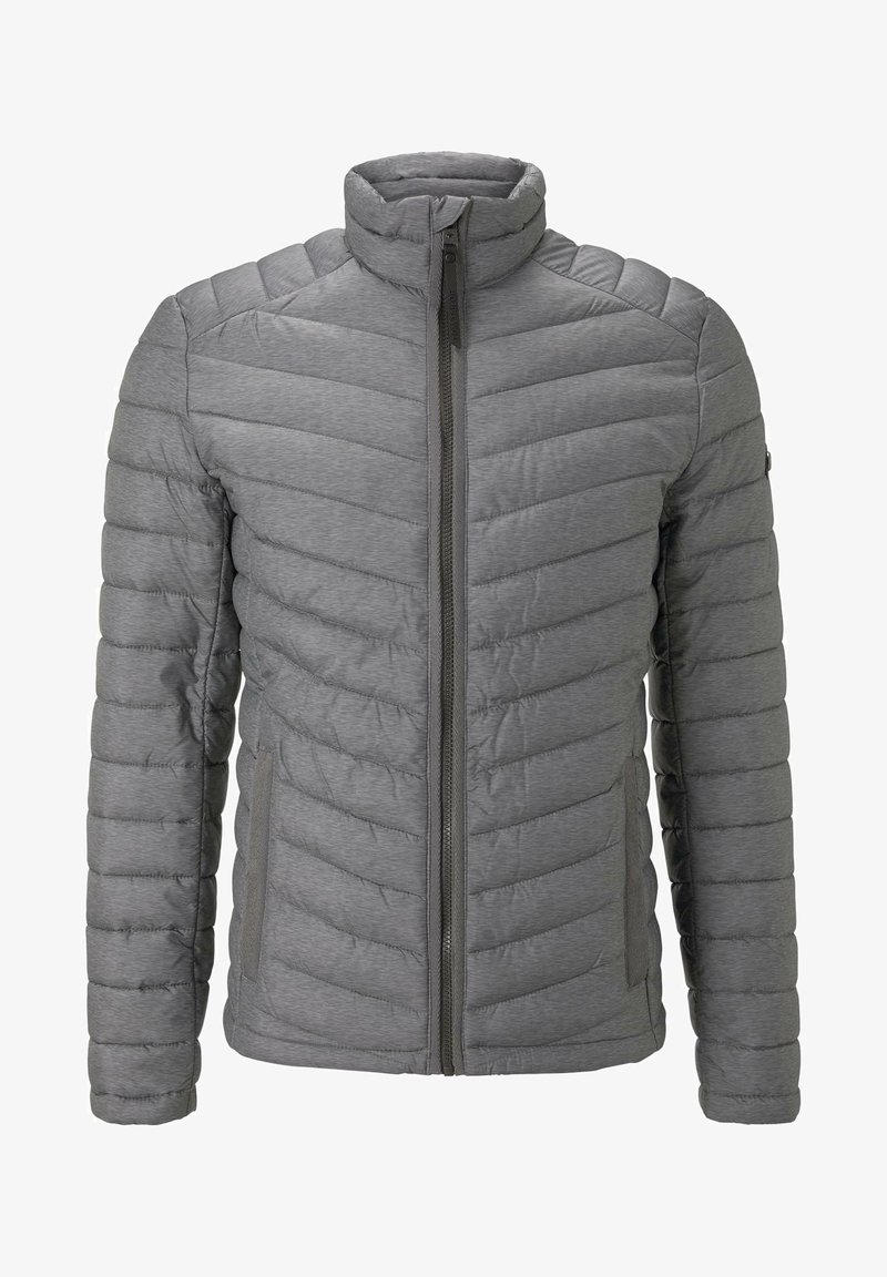 TOM TAILOR - Winter jacket - middle grey mélange