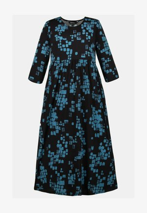 Jersey dress - peacock