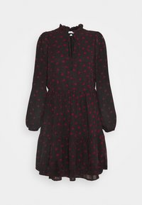 VILA PETITE - VIPLISSEAMESY DRESS - Day dress - black - 0