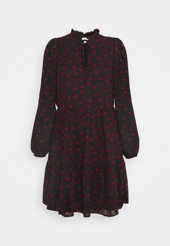 VIPLISSEAMESY DRESS - Day dress - black