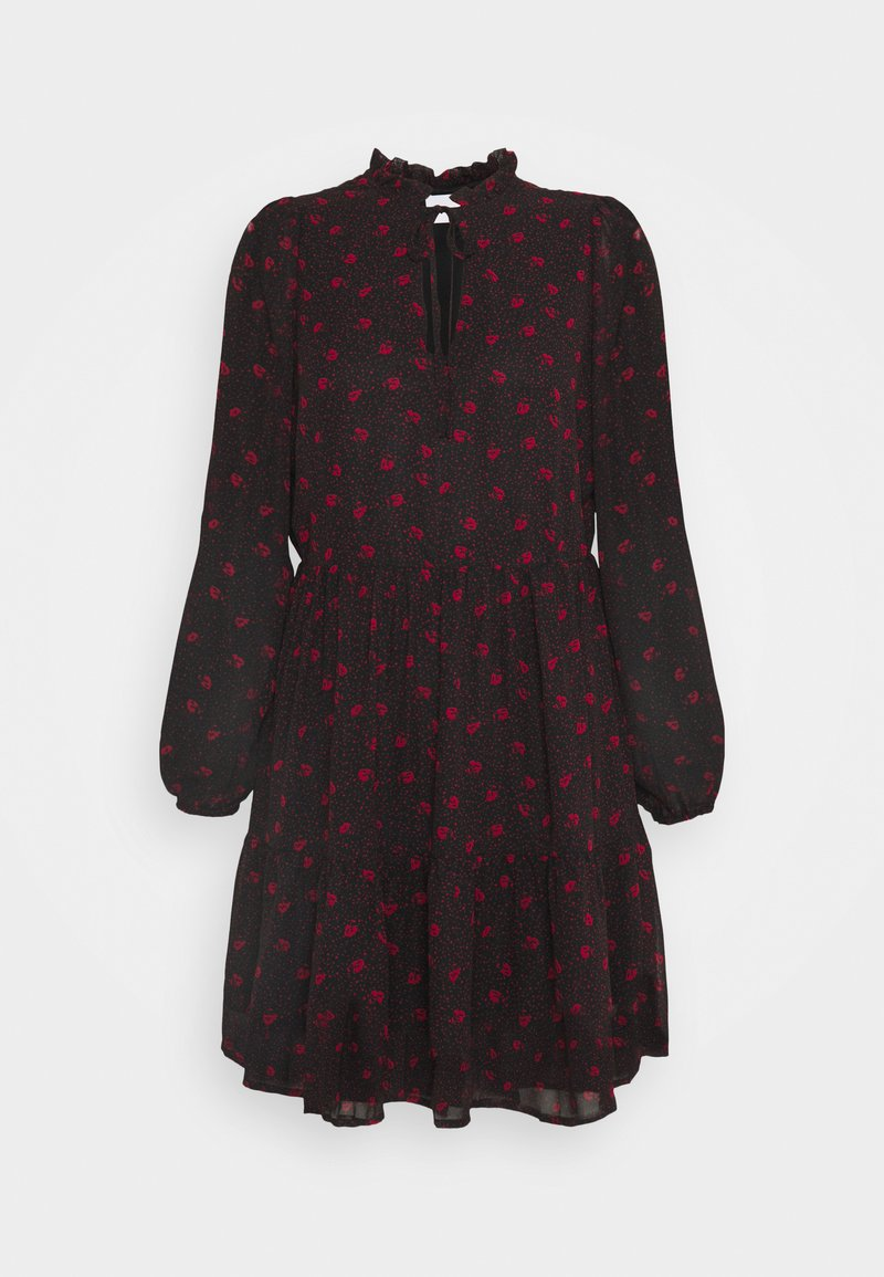 VILA PETITE - VIPLISSEAMESY DRESS - Day dress - black