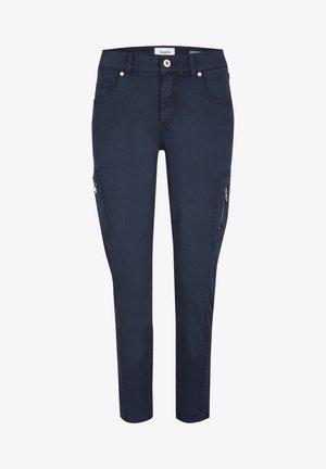 ORNELLA - Cargo trousers - dunkelblau