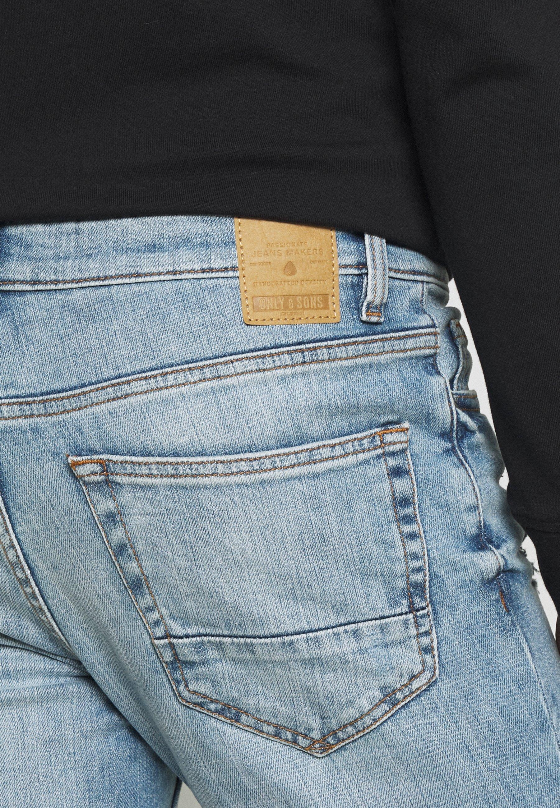 Men ONSLOOM SLIM BLUE WASH - Slim fit jeans