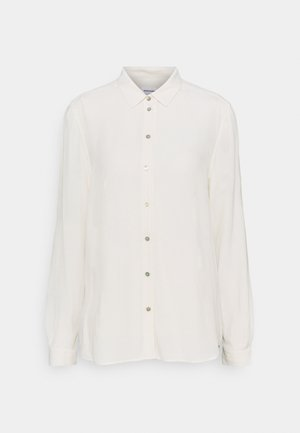 REGULAR FIT - Button-down blouse - ecru
