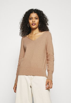 Jumper - wheat heather