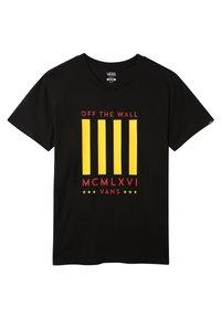 Vans - MN VICTORY - Print T-shirt - black - 0