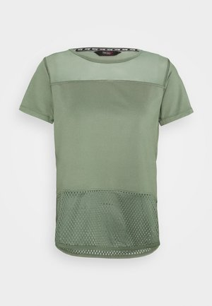 PERFORMANCE - Print T-shirt - agave green