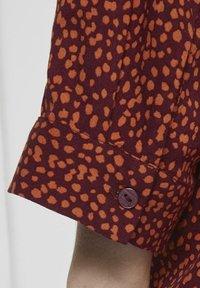 TOM TAILOR - Blouse - burgundy orange - 4