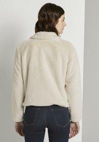 TOM TAILOR DENIM - Winter jacket - dusty beige - 2