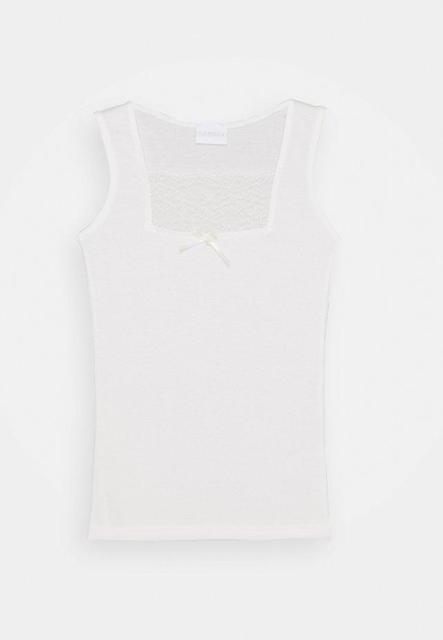 VALENCIENNE - Unterhemd/-shirt - panna