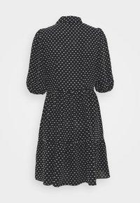 Closet - GATHERED DRESS - Shirt dress - black - 6