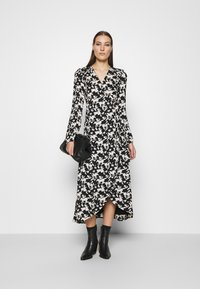 Fabienne Chapot - NATASJA DRESS - Maxi dress - black/warm white - 1