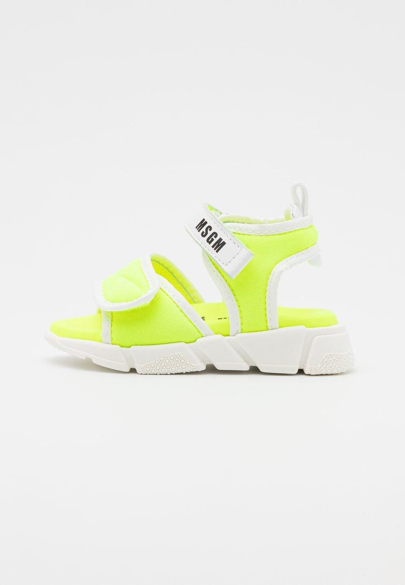 MSGM - UNISEX - Sandals - neon yellow