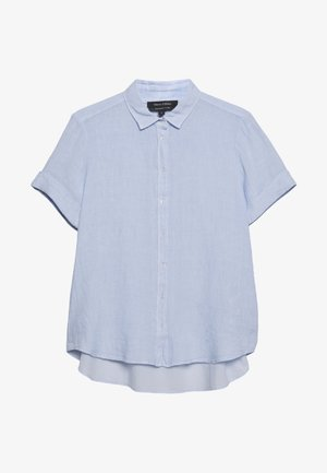 BLOUSE SHORT SLEEVE BUTTON THROUG STYLE - Button-down blouse - sky breeze