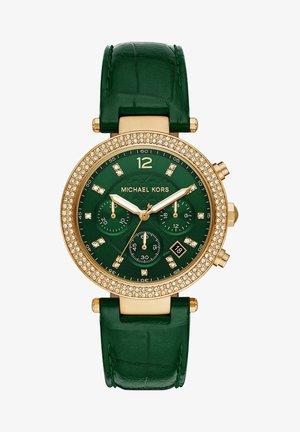 PARKER - Chronograph watch - green