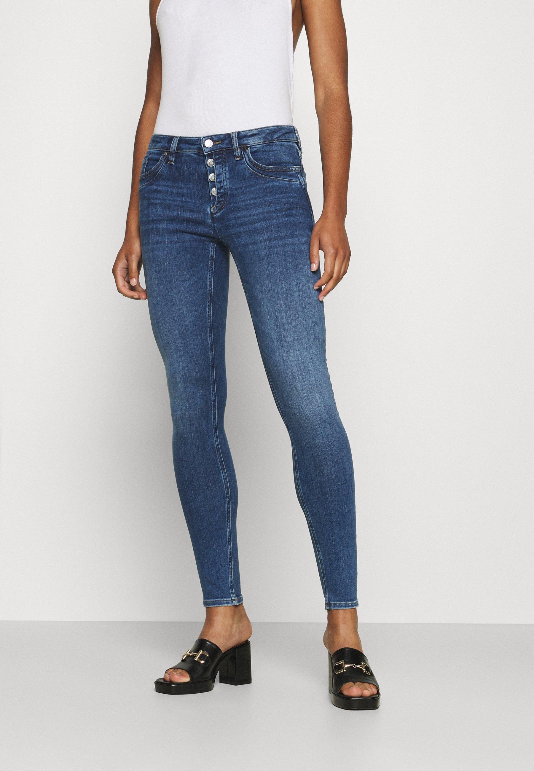Damen CORE - Jeans Skinny Fit - blue medium