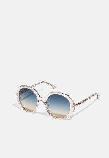 Sunglasses - pink/green