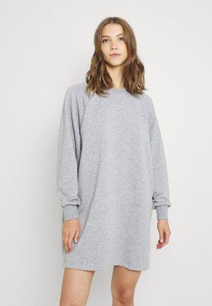 NMLUPA DRESS - Denní šaty - mottled light grey