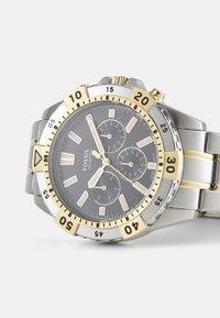 Fossil - GARRETT - Cronografo - silver-coloured/gold-coloured - 4