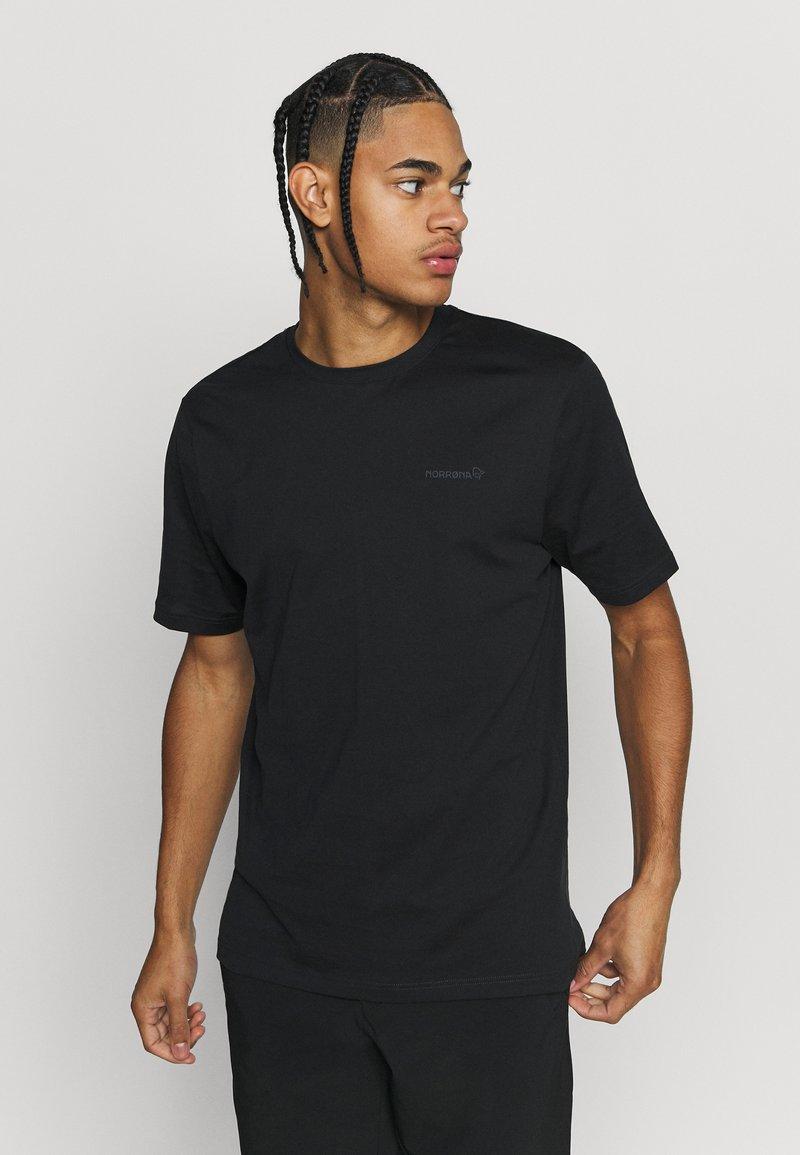 Norrøna - Print T-shirt - black