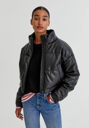 Down jacket - mottled black