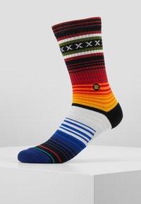 Stance - CURREN CREW - Socks - red - 0