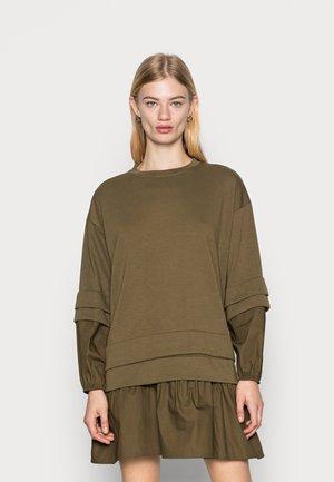 VMULVA SHORT DRESS - Vestito estivo - dark olive