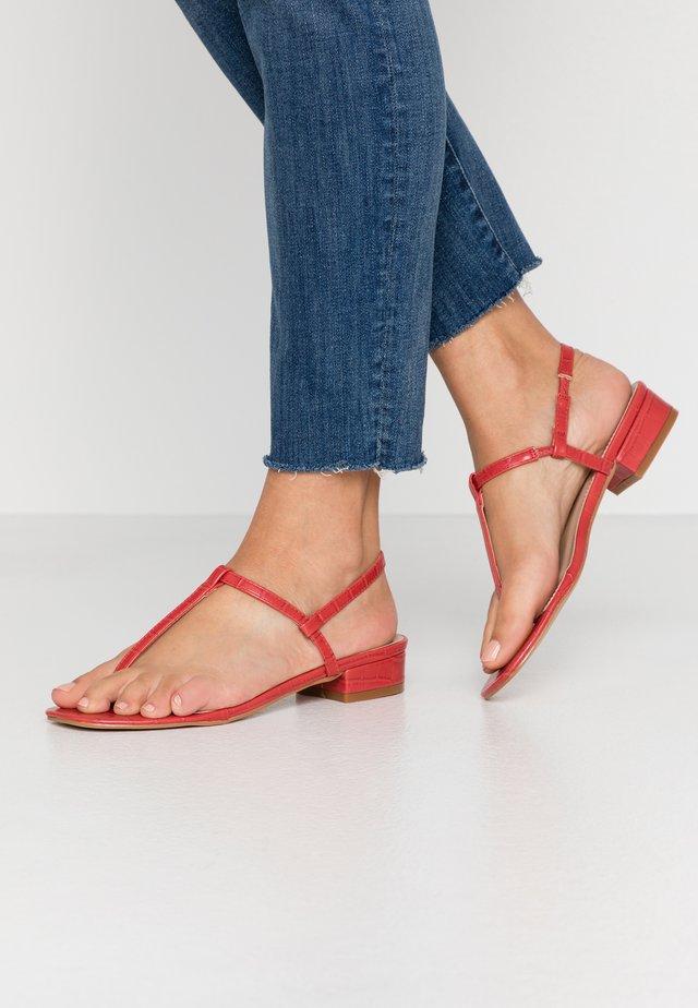 INESA - Sandalias de dedo - red