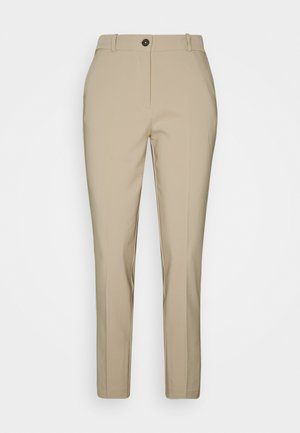 BISTRETCH POLY SLIM  - Trousers - sahara tan
