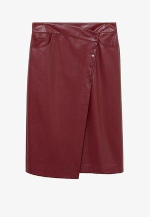Áčková sukně - granato