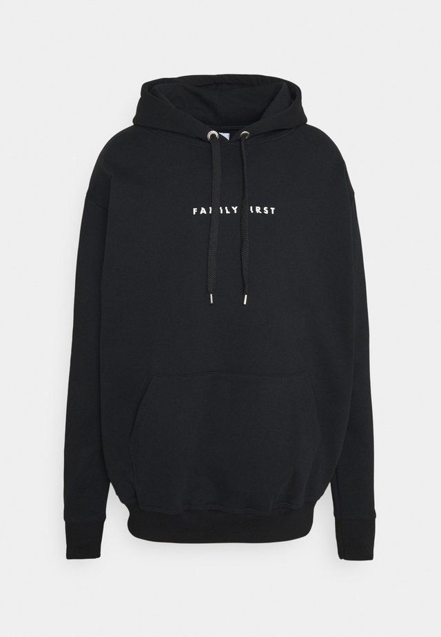 HOODIE GLITCH - Sweater - black