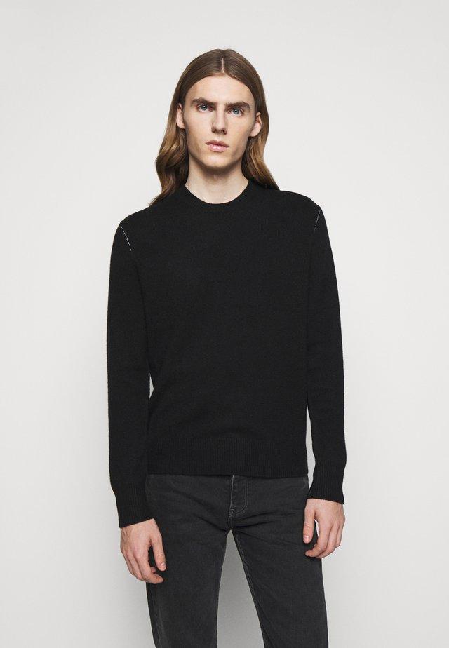 HALDON CREW - Pullover - black