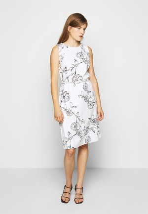 SKETCH DRESS - Day dress - offwhite