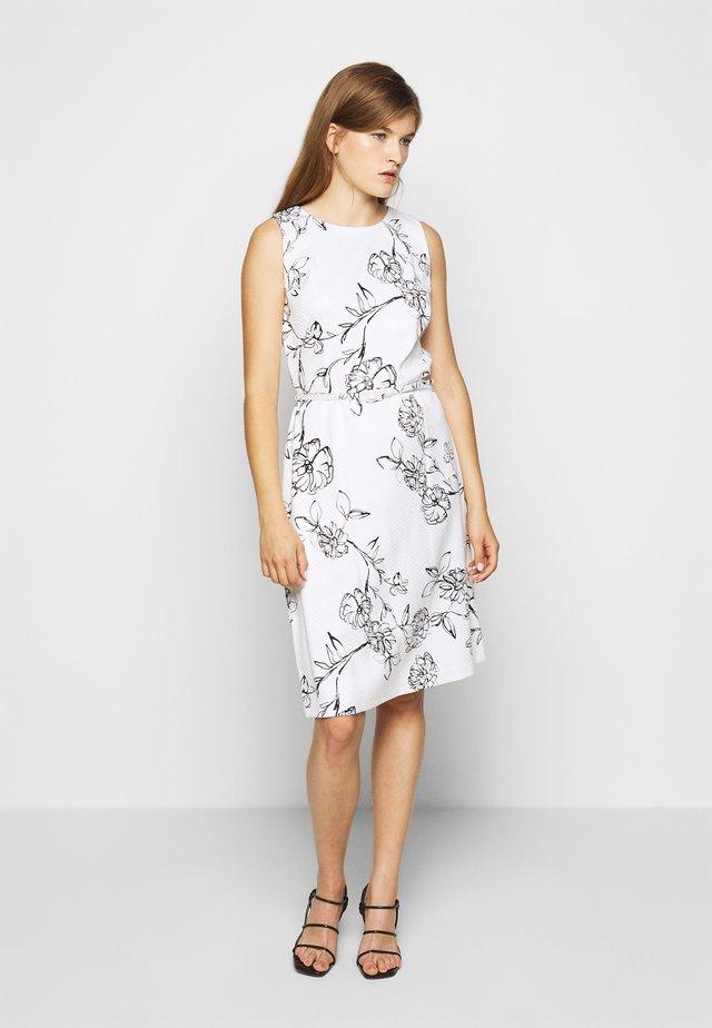 SKETCH DRESS - Denní šaty - offwhite