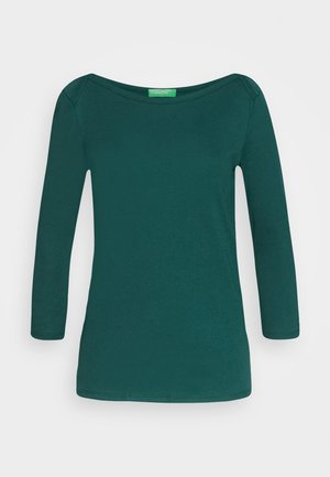 Long sleeved top - forrest green