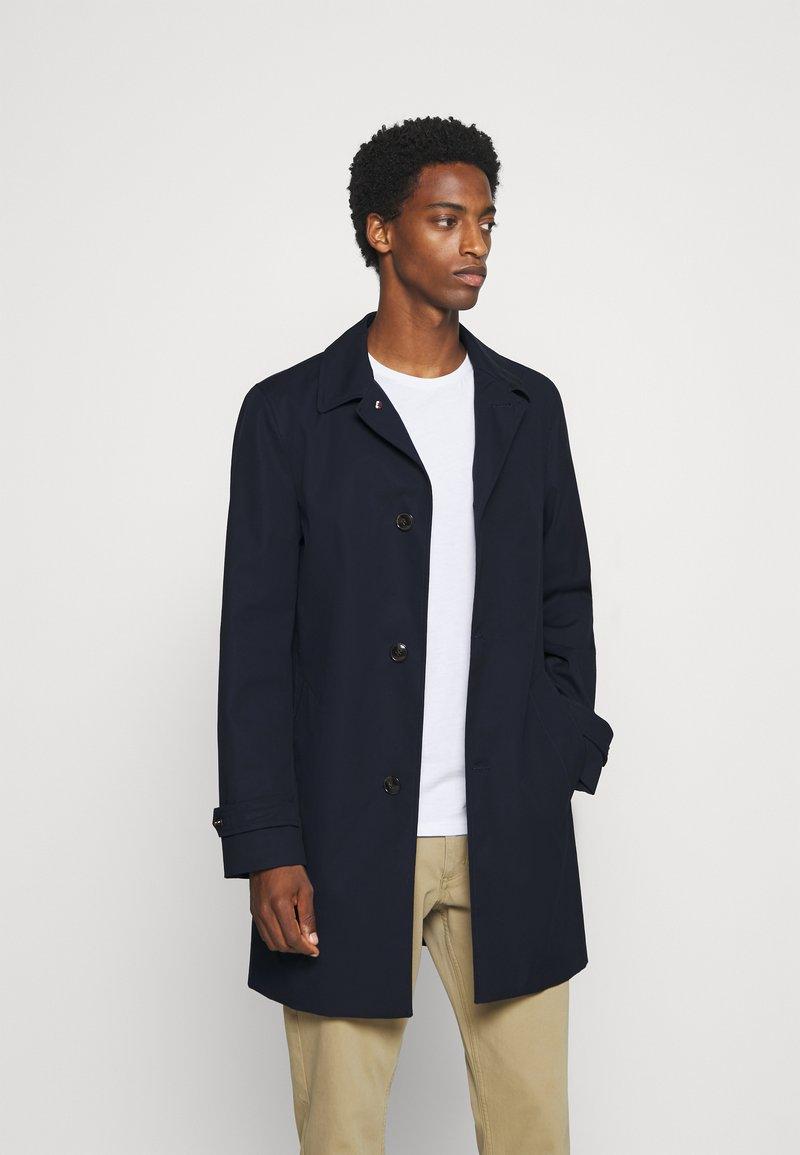 Tommy Hilfiger Tailored - CAR COAT - Short coat - blue