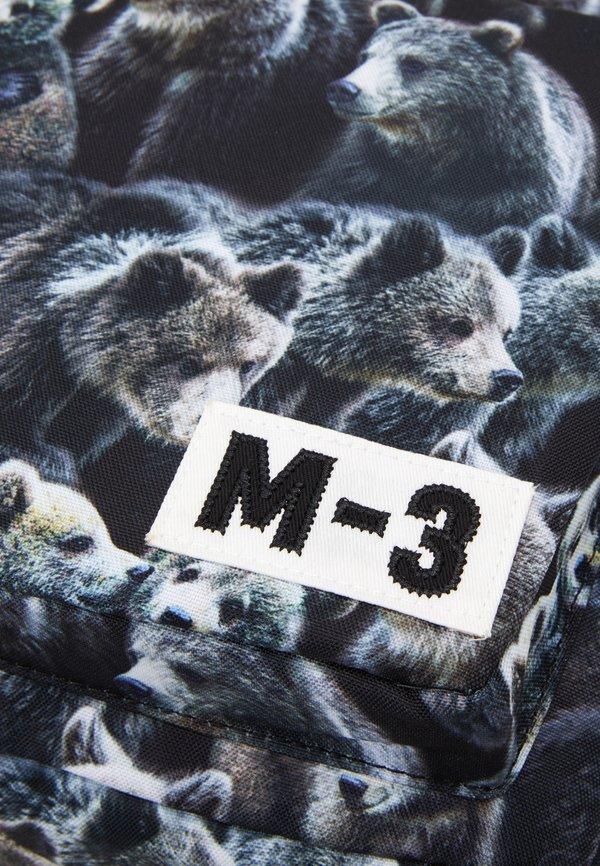 Molo BIG BACKPACK - Plecak - brown Nadruk zwierzęcy Akcesoria MRUPGT1