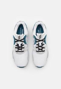 adidas Golf - ADIC ZX PRIMEBLUE - Golf shoes - footwear white/core black/orbit indigo - 3