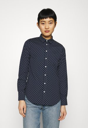 FAIRLY DOT - Button-down blouse - marine