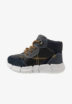 FLEXYPER BOY - Baby shoes - navy/black