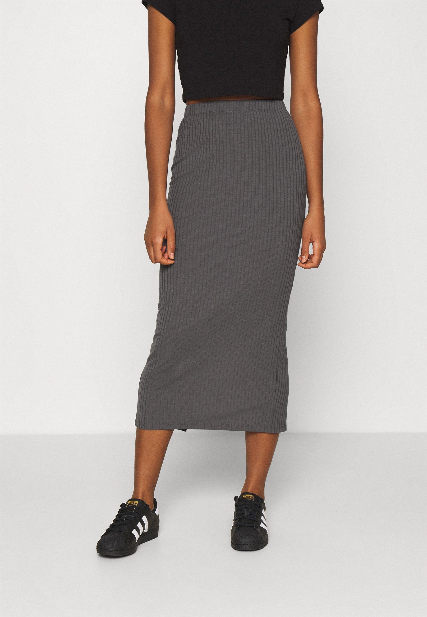 Women MIDI SLIT SKIRT - Pencil skirt